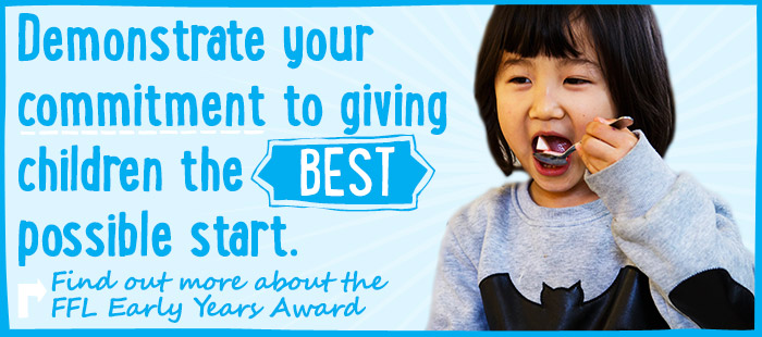 Demonstrate your commitment to giving children the best possible start