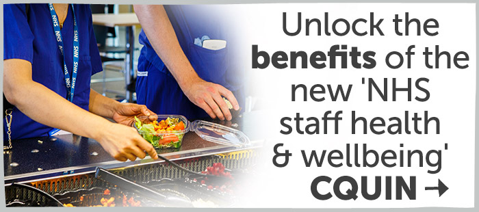 Unlock the benefits of the new NHS staff health and wellbeing CQUIN