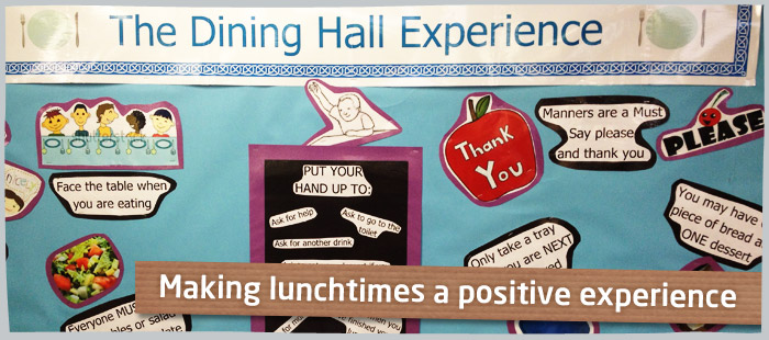 Enhance the children's lunchtime experience