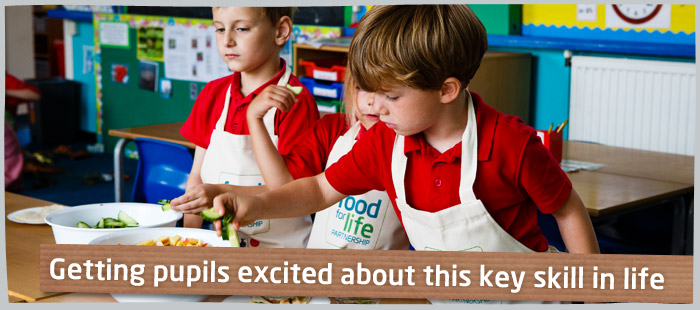 Get your pupils interested and excited about cooking