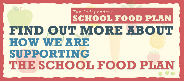 Find out more about how we are supporting the School Food Plan