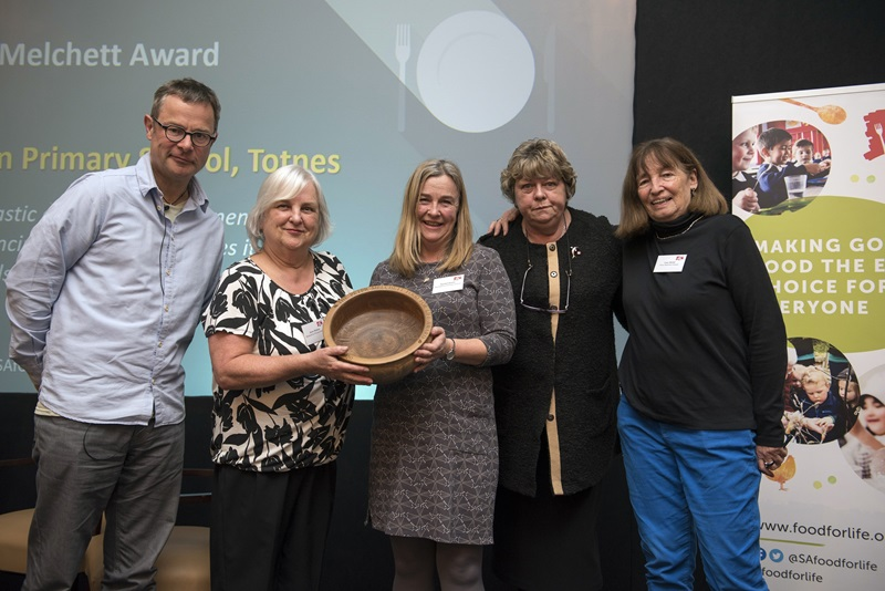 Peter Melchett award winners at Food for Life conference